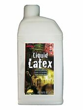 Halloween Liquid Latex 16oz Zombie Skin Wounds Scars Makeup Special Effects