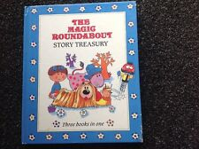 The Magic Roundabout Story Treasury 3 books in 1 Vintage 1992 beautiful HC