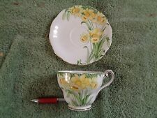 "Royal Standard tea cup and saucer""daffodils"" very nice condition,great colors"