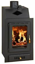 Wood Burning Stove Inset Insert MultiFuel Built in Fireplace Log Burner Prity VM