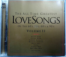 All Time Greatest Love Songs Vol ll 2 CD Set