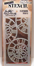 Clock Work Design Layering Stencil - Stampers Anonymous Tim Holtz Collection