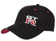 Nissan GTR GT-R Black Baseball Cap Hat New Genuine GTR62
