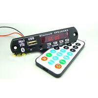 DC 12v Digital LED Bluetooth mp3 Decoder Board FM Radio Usb TF AUX + Remote wire