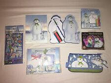 BN Raymond Briggs The Snowman And The Snowdog Mixed Stationary Set Notebook