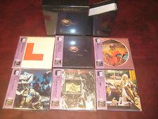 10 CC GODLEY & CREME TREMENDOUSLY RARE 6 JAPAN REPLICA OBI CD TITLES BOX SET