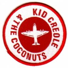 KID CREOLE & THE COCONUTS   sew on patch