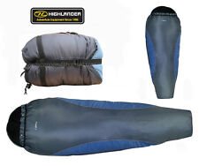 Highlander Travel Voyager Lite Mummy Compact Lightweight Camping Sleeping Bag