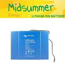 Victron LiFePO4 Lithium Ion 12.8V 200Ah Battery - wind/solar/off-grid storage
