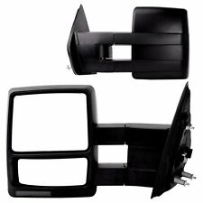 07-14 Ford F150 Pickup Towing Mirror Power Heated Set Smoke Signal Puddle Lights