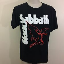 Black Sabbath Flying Devil Men's Thin T Shirt S/M Rock Concert Tour Ozzy Punk