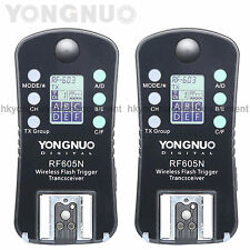 Yongnuo RF-605 N Wireless Flash Trigger for Nikon D3000 D800E D800 D700 D300s
