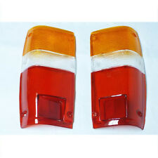 For 84-89 Toyota Pickup Hilux diesel crew-cab 2.8L 6 Screw Tail lamp lens pair