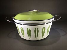 "CATHERINEHOLM Norway 8.5"" Stock Pot Dutch Oven Avocado Green Lotus Mcm"