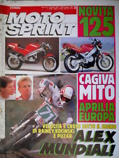 Motosprint 21 1990 Cross all'insegna di Rainey, Kocinski e Puzar. Cagiva [Q78]