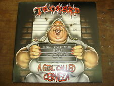 TANKARD A girl called cerveza GATEFOLD 2 LP YELLOW VINYLS + POSTER
