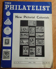 HTF APRIL 1938 THE PHILATELIST PUBLISHED BY THE REGENT STAMP COMPANY LONDON W I