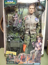 "12"" DEER HUNTER 1/6 ACTION FIGURE GI JOE BBI  CIA SEAL HEAD SCULPT 1/6 bow arrow"
