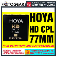 Genuine HOYA HD High Definition Density Circular Polarizer CPL 77mm EXPRESS POST