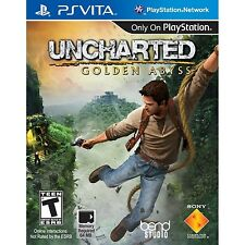 Uncharted: Golden Abyss (Playstation Sony Vita PSV, Nathan Drake) Brand NEW