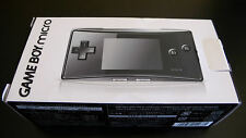 Nintendo Gameboy Micro Black Japan Import Handheld New Game Boy OXY-S-CA (JPN)