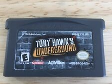 Tony Hawk's Underground (Nintendo Game Boy Advance, 2003) Tested Fast Shipping