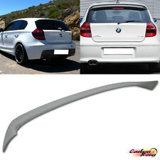Unpainted For BMW E87 5DR E81 3DR Hatchback Trunk Spoiler Wing 118i 116i 2011