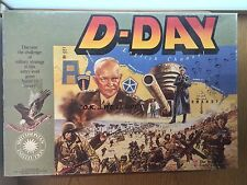 1991 D-DAY Avalon Hill Board Game WWII Vintage Axis Allies NEAR COMPLETE!!!