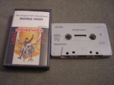 RARE OOP Riding High CASSETTE TAPE soundtrack POLICE Pretenders Gary Numan CHIC