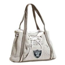 Oakland Raiders NFL Football Team Ladies Embroidered Hoodie Purse Handbag