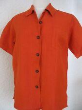 Orig. LISA CAMPIONE - sportliche moderne  Bluse mit LEINEN Gr.38 neuw.