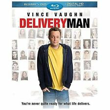 Delivery Man (Blu-ray Disc, 2014) Vince Vaughn, Chris Pratt