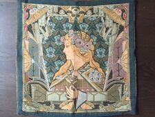 Cotton Tapestry William Morris Lady Cushion Cover Liberty of London 19 x 19