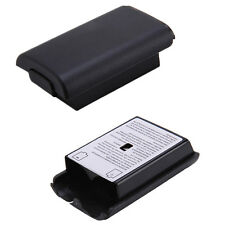 2x Battery Back Cover Case Shell Pack for Xbox 360 Wireless Controller Black New
