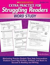Extra Practice for Struggling Readers: Word Study: Motivating Practice Packets T