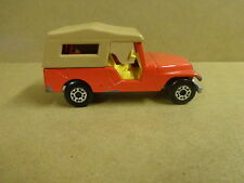 MATCHBOX SUPERFAST N° 53 MADE IN ENGLAND 1977 - JEEP CJ6