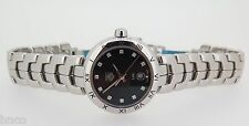 .TAG HEUER LINK STEEL DIAMONDS QUARTZ 100M LADIES WATCH WAT1410 IN BOX
