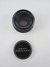 Ashahi SMC Pentax-M 50MM 1:2 Lens Serial 4337209