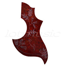 1 Pickguard Scratch Plate for Gibson Hummingbird Acoustic Guitar Parts Tortoise