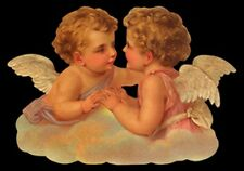vintage style Die Cut Christmas Angels For Scrapbooking Scrapbook projects