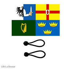 Ireland 4 Provinces Flag 5 x 3 Ft Poles, Windsocks Comes With Free Ball Ties