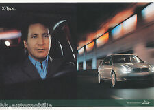 Jaguar X Type Postkarte Ansichtskarte 2001 picture post card Nr 4 Auto PKWs cars