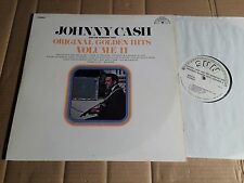 JOHNNY CASH - ORIGINAL GOLDEN HITS VOLUME II - LP - WEISSMUSTER - USA - STEREO