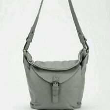 NEW Urban Outfitters Slouchy Buckle Crossbody Shoulder Bag by Ecoté Vegan Grey