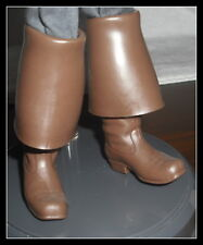SHOES KEN  PIRATES OF THE CARIBBEAN JACK SPARROW MODEL MUSE BROWN PIRATE BOOTS