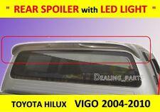 REAR SPOILER WITH LED LIGHT FOR TOYOTA HILUX VIGO SR5 MK6 2004 - 2011