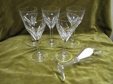 6 verres à eau cristal de Saint Louis mod Bristol (crystal water glasses)