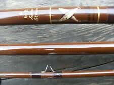 BRUCE &WALKER SILVER STREAM SALMON SEA TROUT ROD 3PCE 12FT LINE 6-8