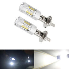 2X Truck H1 high power 80w 12-24v Cree chip led bulbs fog light headlight DRL