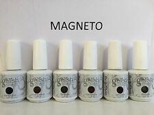 Harmony Gelish MAGNETO Collection. Set of 6 Gel Colors Full Size 0.5 oz